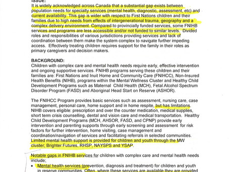 Widespread and discriminatory shortfalls in mental health services for Indigenous Peoples