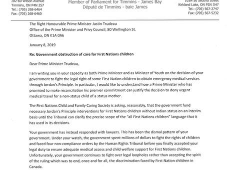 Government obstruction of care for First Nations children