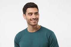 Portrait des lächelnden Mannes