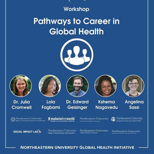 Pathways to a Careers in Global Health Photos