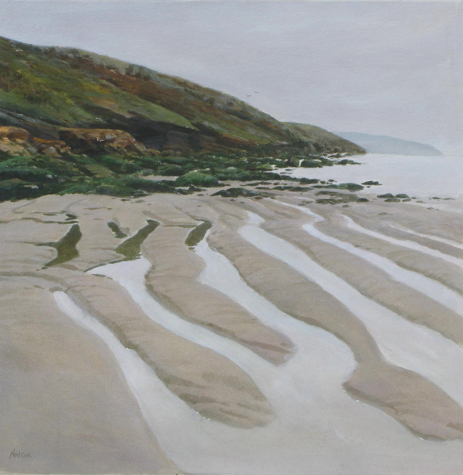 Tregardoc Low Tide