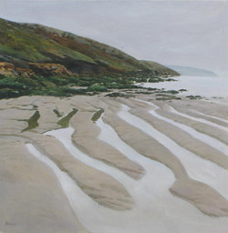Tregardoc Low Tide