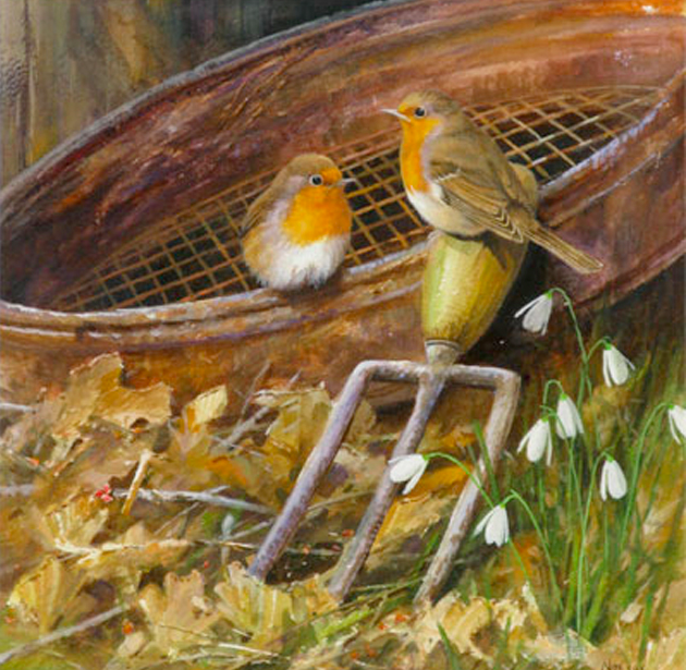 The Gardeners Friend, Robins