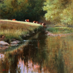 Sunny Evening - River Sid