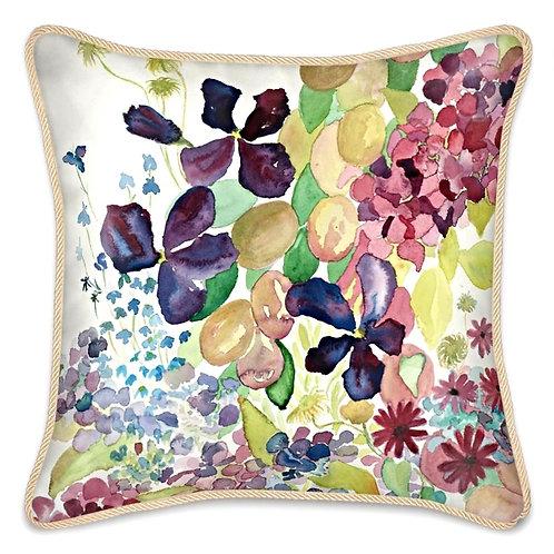 Summer Plum Sunday Cushion