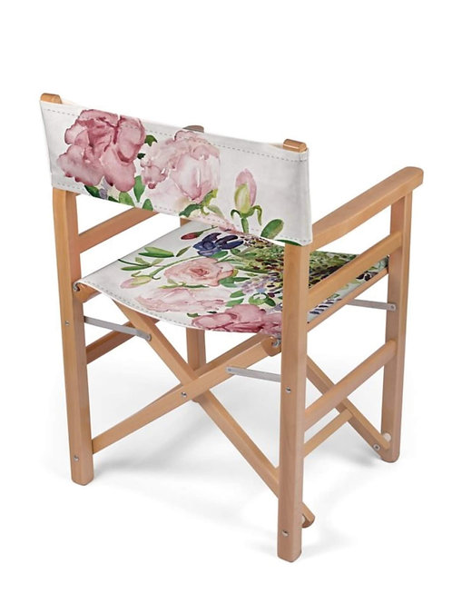Summer Roses - Directors Chair