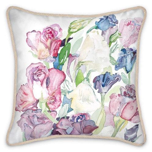 Grace - Pure Silk Feathered Cushion