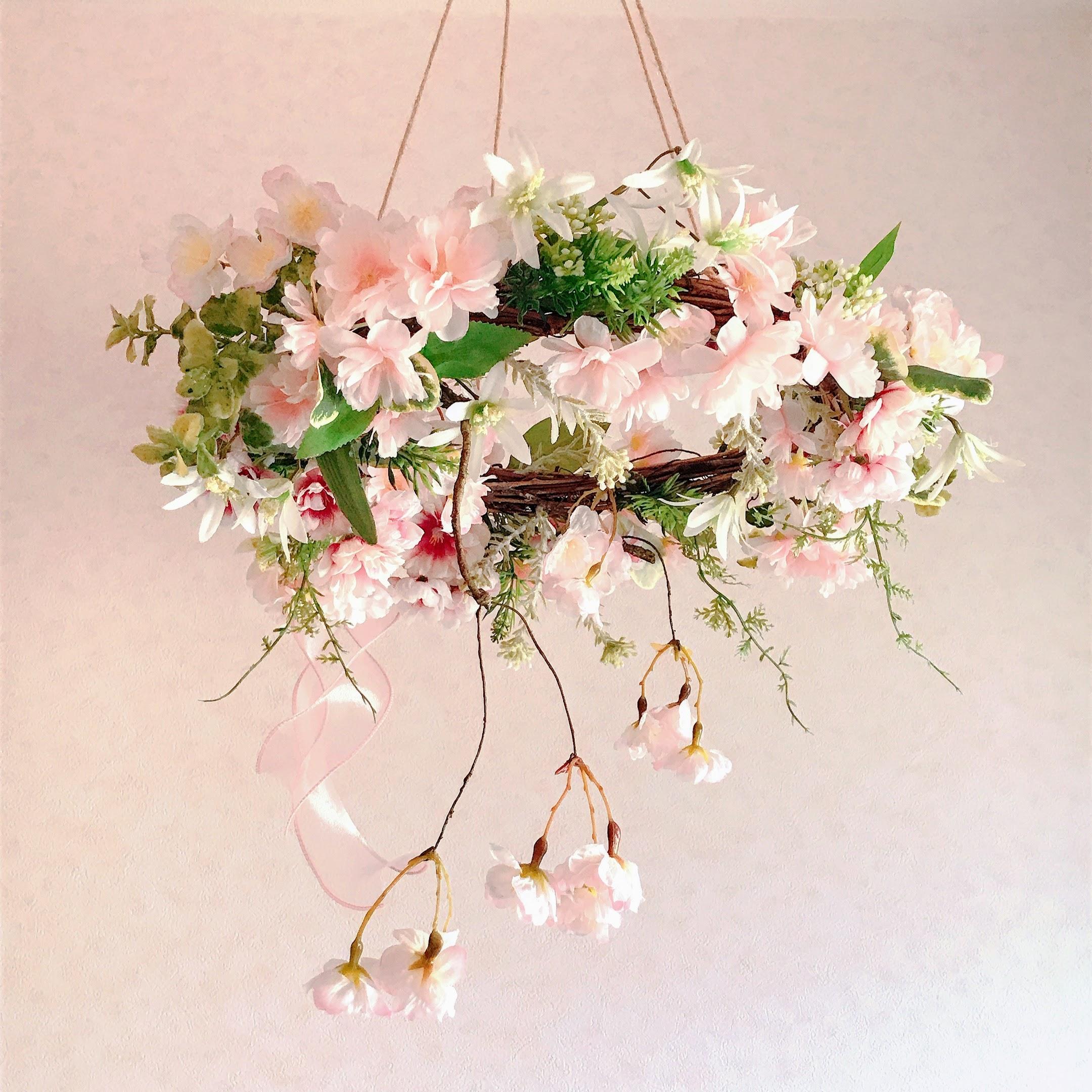 桜咲くフライングリース