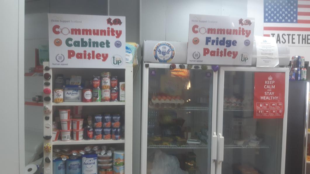 Community Fridge Paisley