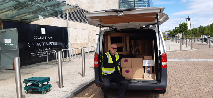 Great Donation from M & S in Silverburn
