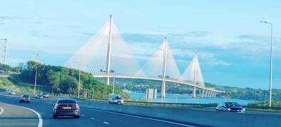 Queensferry Bridge when helping people in Fife