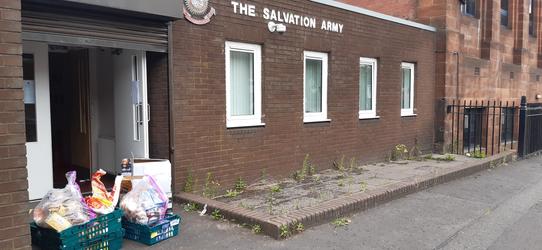 Salvation Army Food Drop Off
