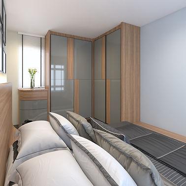 HDB BTO 4 Rm - Master Bedroom