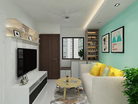 Bedok North Rd - Living Room