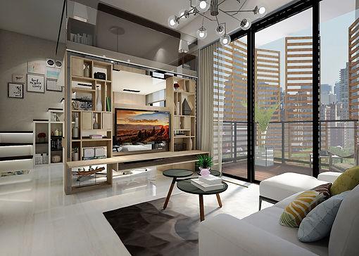 Hillview - Living Hall