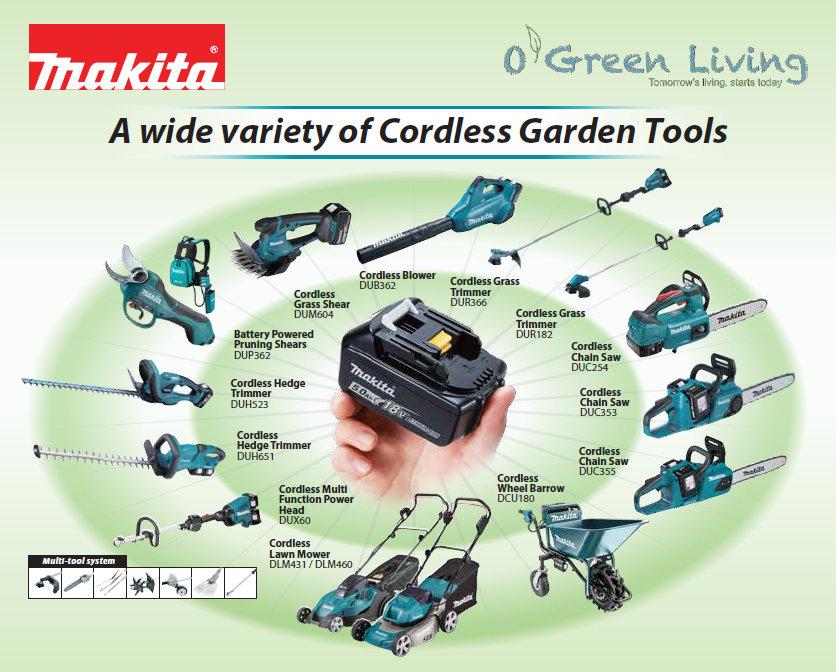 Gardening Tools Singapore. Makita Official Dealer.