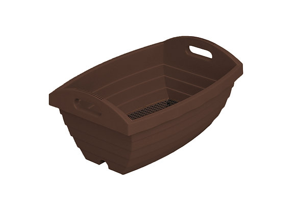 Barrel Planter Pod 450 (Brown)
