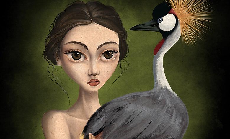 2d digital art illustration procreate artist illustrator editorial