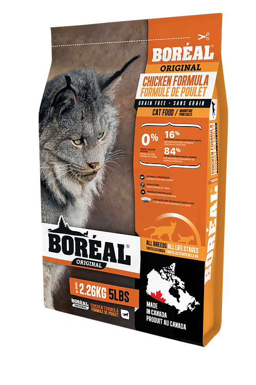 Boréal Original sans grain Poulet 2.26 kg