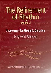 Refinement of Rhythm Dictation Vol 2