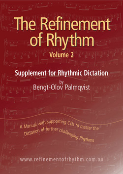 Refinement of Rhythm Vol 2 Dictation