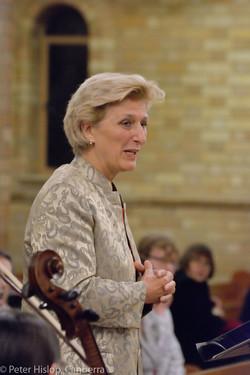 German Ambassador, Dr Anna Prinz