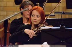 CBE Orchestra leader, Leanne Bear