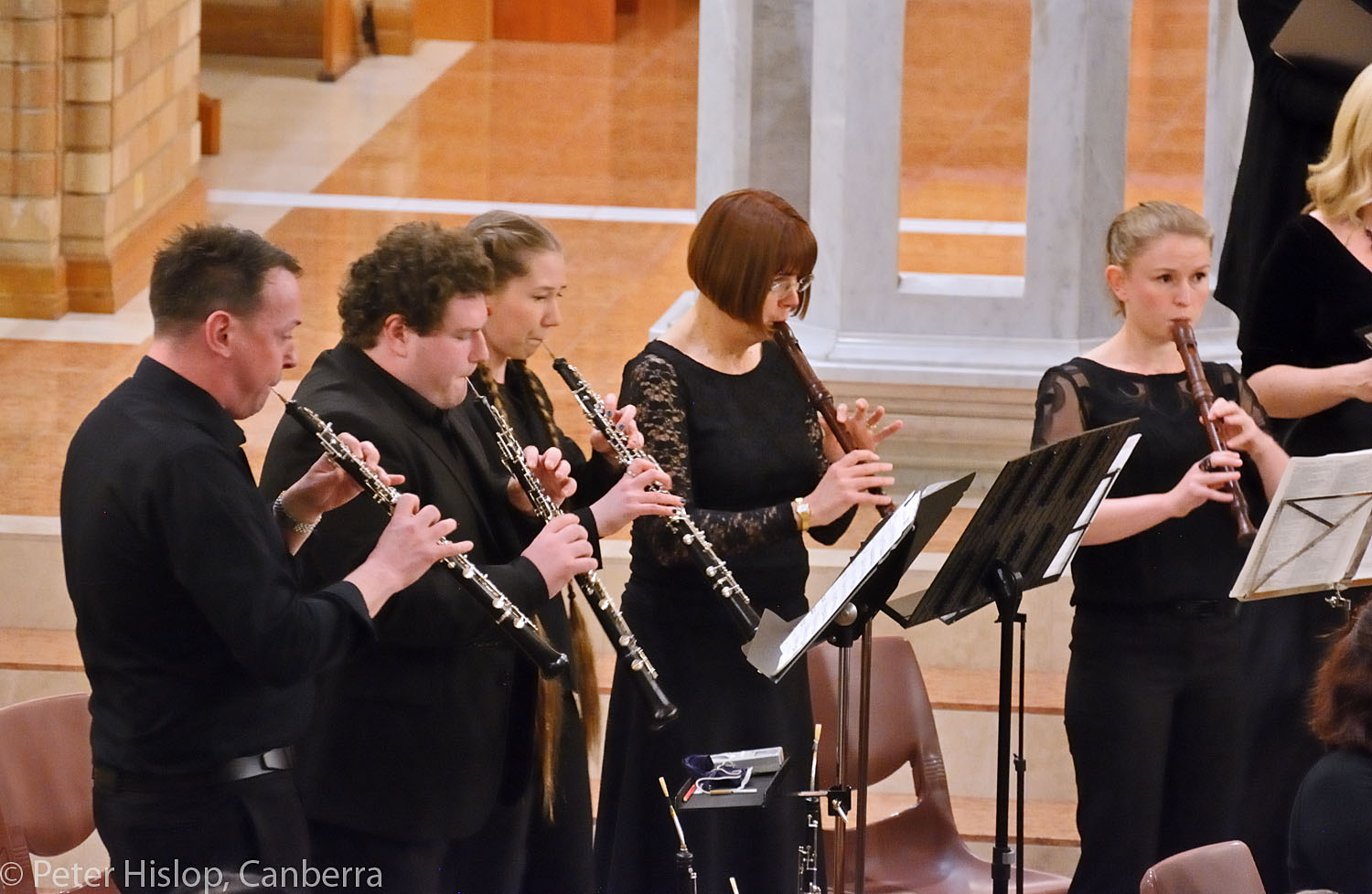 Canberra Bach Ensemble, woodwind