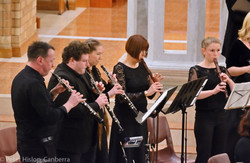 Canberra Bach Ensemble, woodwind