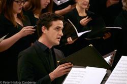 CBE Tenor Soloist, Owen Elsley
