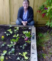 Timebank helps the idea of a vege garden actually happen