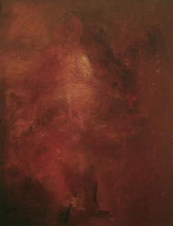 2-1996 0.29x0.39 cm. Olje på plate