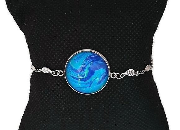 Bracelet Bleu Intense