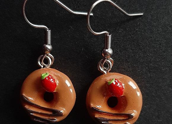 Boucles d'Oreilles- Donuts