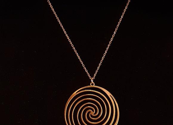 Chaîne Dorée Spirale