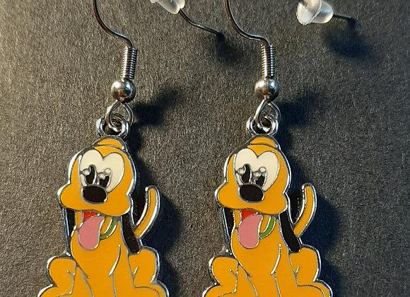 Boucles d'Oreilles- Pluto