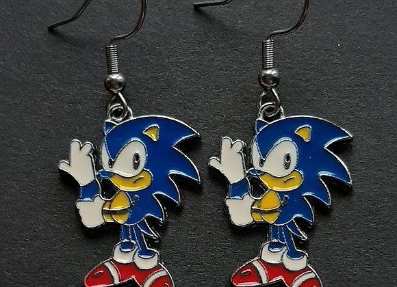 Boucles d'Oreilles- Sonic