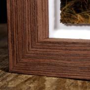 Fine Art Float Frame - Chestnut