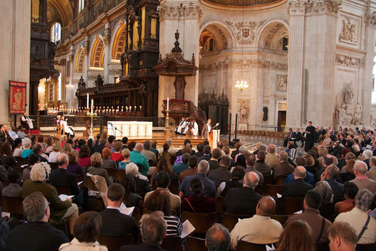 Storytelling at St.Paul's cathedral ,London