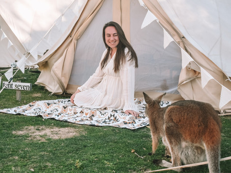 Glamp With Kangaroos!