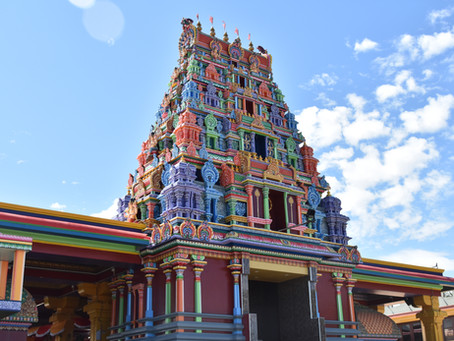 Temples Of Every Colour Of The Rainbow