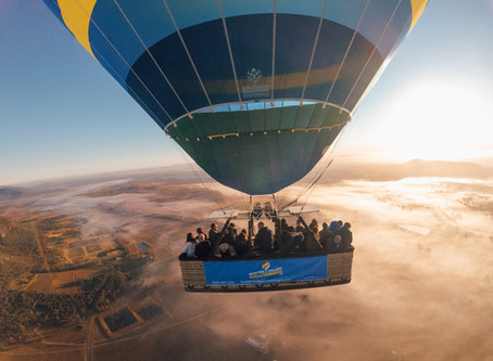 Up, Up And Away In The Hunter Valley!