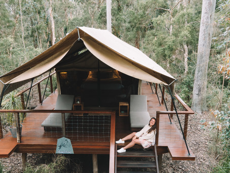Staying In Australia's First Glamping Retreat!