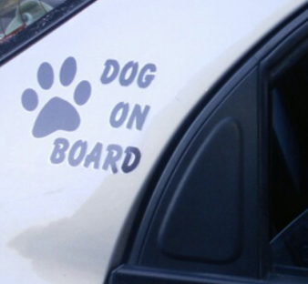 "Stickers ""Dog on Board"""