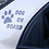 "Thumbnail: Stickers ""Dog on Board"""