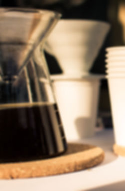 Coffee Catering at Men's Health private