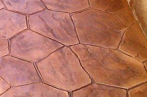 Suelo imitación piedra jardin Barcelona