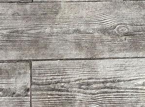 Suelo cemento imitación madera