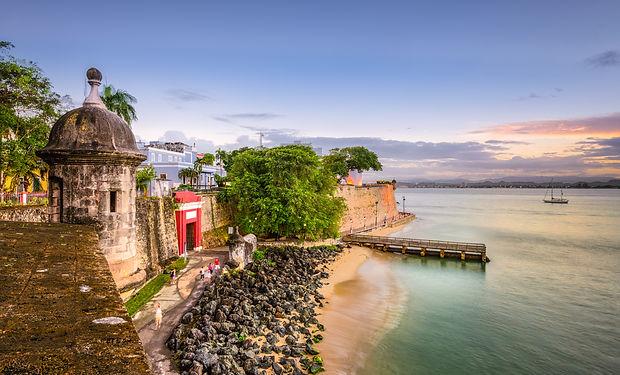 San Juan, Puerto Rico Caribbean coast al