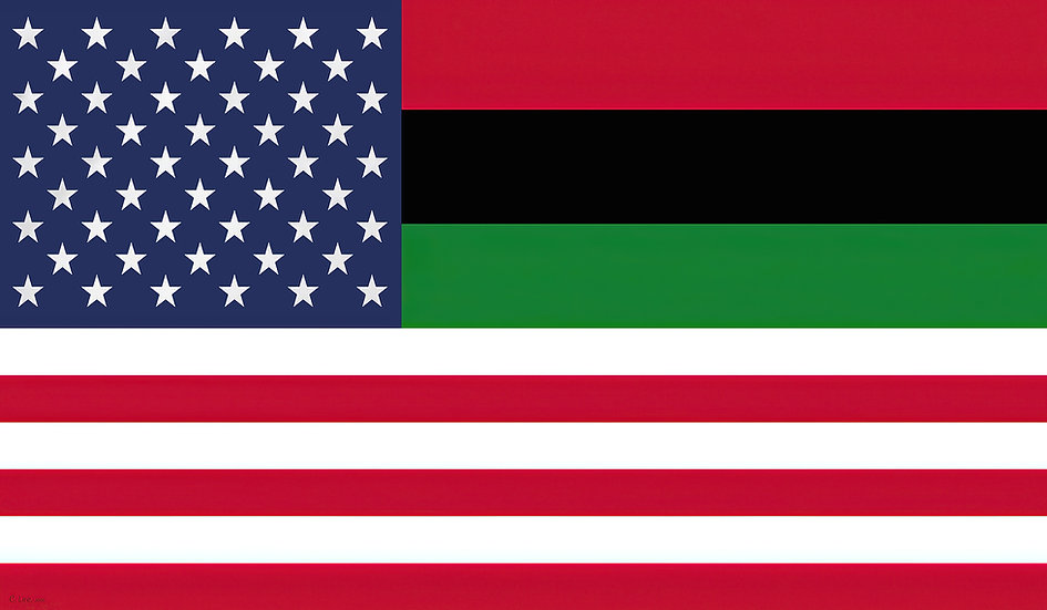 African American Flag of Inclusion